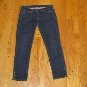 LUCKY BRAND ZOE SKINNY ANKLE CROP JEANS 6